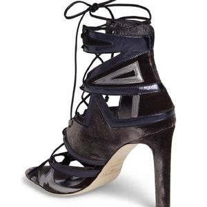 b730a8b7ab1 Jimmy Choo Shoes - Jimmy Choo Blue Denney 100 Pumps Size 39.5